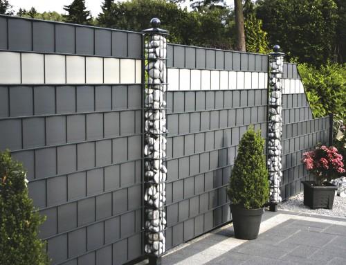 Sichtschutzzaun DISCRETO (Metall/Kunststoff)